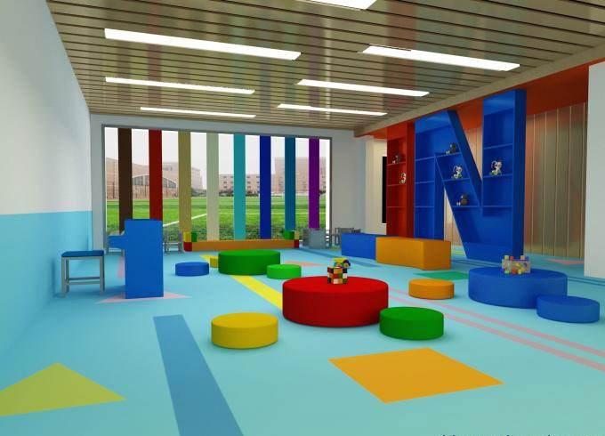 韩国LG幼儿园PVC塑胶地板